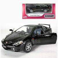 Kinsmart 1:34 Die-cast Honda Integra Type R Car Metal Black Model Collection New