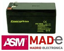 Batería de plomo AGM - 12V 1,3Ah - EnergiVm MV1213