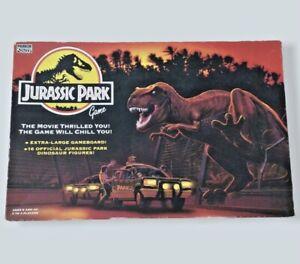 Vintage Jurassic Park Board Game Parker 1992 Retro Dinosaurs Complete Used VGC