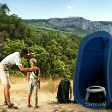 Weisshorn Outdoor Portable Folding Camping Toilet - White