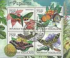 Timbres Papillons Togo 2880/3 o année 2012 (45958) - cote : 17 €