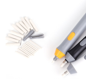 Electric Automatic Eraser Kit Automatic Pencil Eraser with 22  Rubbers US STOCK