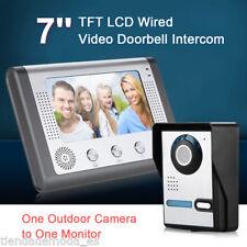 Tür Videosprechanlage Video Wechselsprechanlage Türstation mit Kamera Türklingel