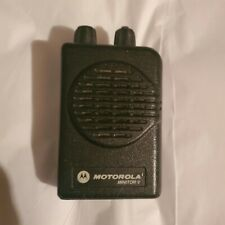 Motorola Minitor V (5) Low Band Pagers 33-37 Mhz 2-Channel Stored Voice