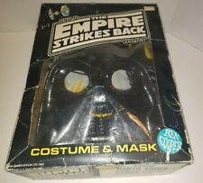 Star Wars 1980 Darth Vader ESB Halloween Costume Ben Cooper Unused Vintage