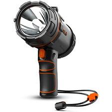 GOODSMANN 2000 Lumen Rechargeable LED Waterproof Spotlight Handheld Portable