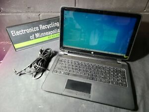 HP 15-f100dx Touchscreen A8-6410 @ 2.00 GHz, 4 GB RAM 500GB HDD Win10 R5 GPU