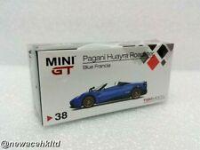 Pagani Huayra Roadster Blue Francia RHD MINI GT 1/64 #AMGT00038-R