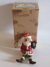 Jim Shore Santa Dangling Arms/Legs Ornament 4034415 - New In Box - 2013