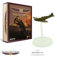 Warlord Games - Bolt Action - Blood Red Skies - British ace pilot Sailor Malan