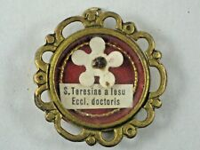 Antique Reliquary - S. Teresiae a Lesu Eccl. doctoris -  Relic In Theca Holder
