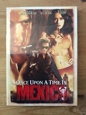 Once Upon a Time in Mexico, 2003 Antonio Banderas (DVD, Widescreen) New & Sealed