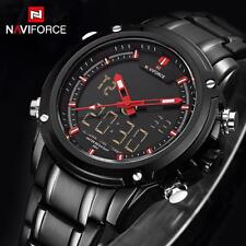 Luxury Men Quartz Wrist Watch Analog Digital Military Sport Waterproof Watches