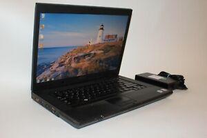 "Dell Latitude E5500 15.4"" Windows 7 Pro 64 Bit Serial Port Laptop 250GB 2GB RAM"