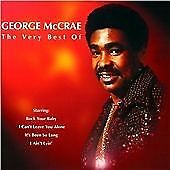 George McCrae : The Very Best Of CD (2001) Incredible Value and Free Shipping!