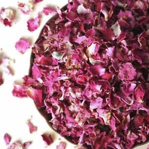 Organic Dried Red Rose Petals Wedding Craft Potpourri 25g- 100g (FREE POSTAGE)