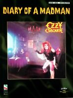 OZZY OSBOURNE GUITAR TAB / TABLATURE / ***BRAND NEW*** / DIARY OF A MADMAN