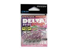 NEW DECOY TESTINE PIOMBATE DELTA MAGIC SV-51 SALTWATER- SIZE: 4 - 2.5gr JAPAN