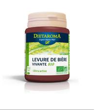 ♡♡ DIETAROMA ♡♡ Levure de bière vivante Bio - 90 gélules - Ultra Active