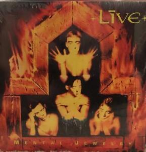 LIVE - Mental Jewelry - Vinyl LP Record - NEW & SEALED