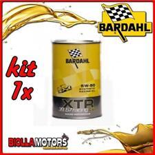 KIT 1x LITRO OLIO BARDAHL XTR C60 RACING 39.67 5W50 1LT - 1x 306039