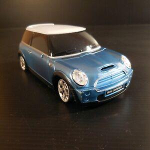 Voiture miniature électrique tourisme sport bleu jouet SUV MINI COOPER S N4650