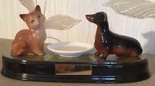 Beswick Cat & Bassotto modello N. 1436/1460 Ginger & nero lucido in ceramica di base