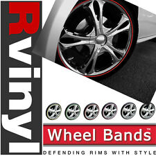 "Wheel Bands 13-22"" by Rim-Pro Tec Rim Curb Rash Protection for Honda & more"