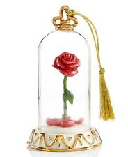 Lenox Disney Beauty & The Beast Enchanted Rose Christmas Ornament New in box