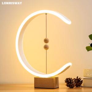 Suspension Smart LED Magnetic Modern Creative Balance Light Lamps Gift Bedroom
