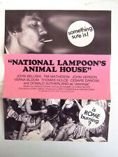 National Lampoon's Animal House (John Belushi) Original film flyer 70s