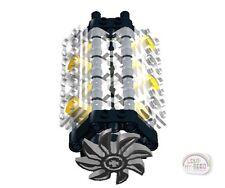 LEGO Technic - V-8 Engine Kit w/Fan - Transparent - New - (Motor)