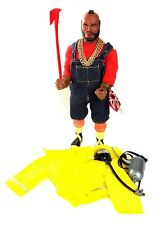 "MR. T Real Life SUPERHERO 12"" Action Figure By Galoob! With Fire Rescue suit"