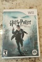 Harry Potter and the Deathly Hallows: Part 1 Game Complete! Nintendo Wii