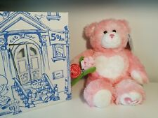 "Build A Bear Pink Kisses Teddy Bear Plush 17"" w/ Magnet Rose New"