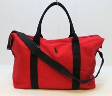 RALPH LAUREN POLO RED WEEKEND BAG / SPORT / HOLDALL / DUFFLE / TRAVEL BAG