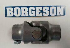 BORGESON PREMIUM STEEL STEERING U- JOINT 3/4 DD X 5/8 36 CHRYSLER (USA)