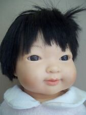 ASIAN or LATINA d'nenes REALISTIC lifelike newborn reborn BABY DOLL spain