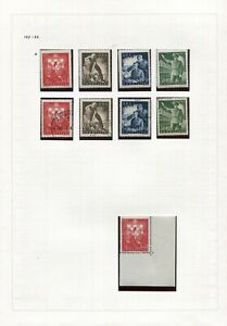 NDH CROATIA SPECIALIST SELECTION FROM LABOUR CORPS SET B65-B69 SEE SCANS NH/VFU