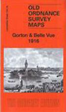 OLD ORDNANCE SURVEY MAP GORTON & BELLE VUE 1916