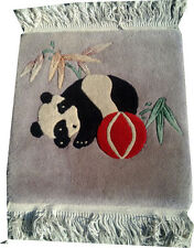 """A Cute Pictorial Chinese Rug """"Panda"""""""