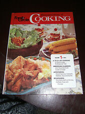 Family Circle Illustrated Library Of Cooking Volume 1 A-Bev 1972 HC Illustrated