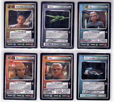 Star Trek CCG Rules of Aquisition Complete Mint Set Direct from Decipher.