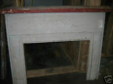 """Antique Heart Pine Fireplace Mantel overall dimensions 66 1/4"""" x 55 1/2"""""""