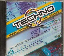 CD COMPIL 14 TITRES--MUSIQUE TECHNO--TLK/PRESSURE/DXF