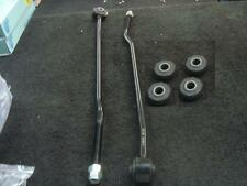 REAR ADJUSTABLE TIE BARS FORD ESCORT MK3 MK4 2 REAR TIE BAR 4 BUSH BUSHES