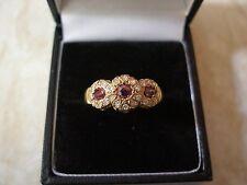 9 Carat Gold Ruby & Diamond-set Ring
