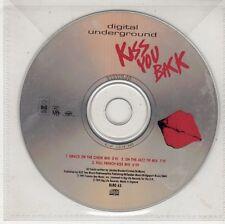 (GW689) Digital Underground, Kiss You Back - 1991 DJ CD