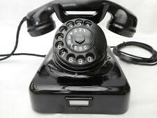 ALTES BAKELIT TELEFON  W 48 / 49   + 1951  + Hagenuk + volle Funktion + TAE