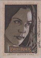 "Lord of the Rings Masterpieces II - Joe Corroney ""Arwen"" Sketch Card"